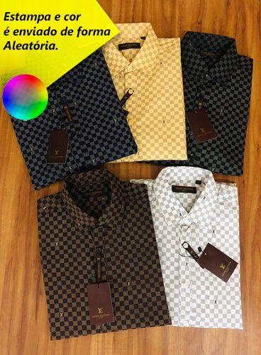 Camisa Social Louis Vuitton (Manga Longa) > Chinesa