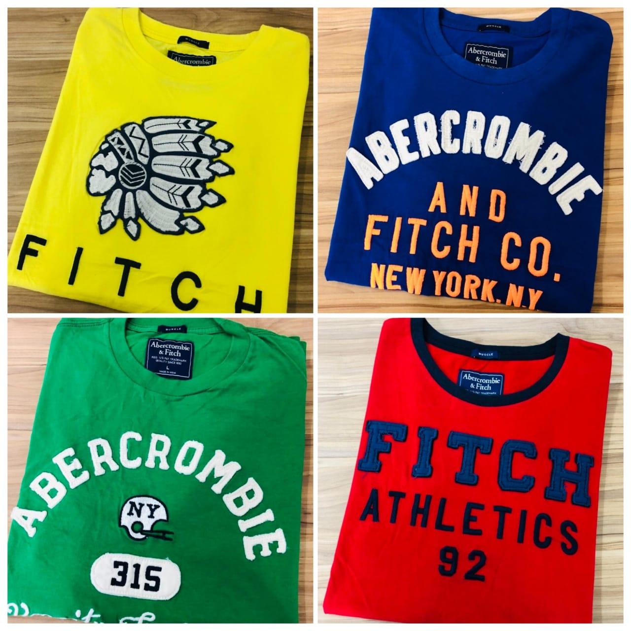 Camiseta Abercrombie & Fitch (cada)