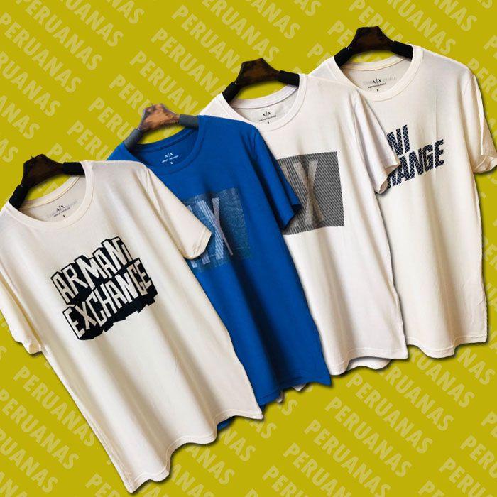 Camiseta Armani Exchange Estampada (cada)