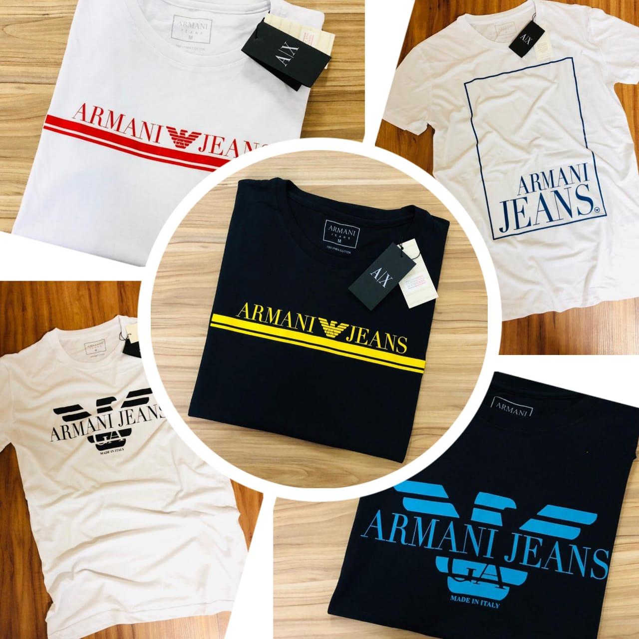Camiseta Armani Jeans Estampada