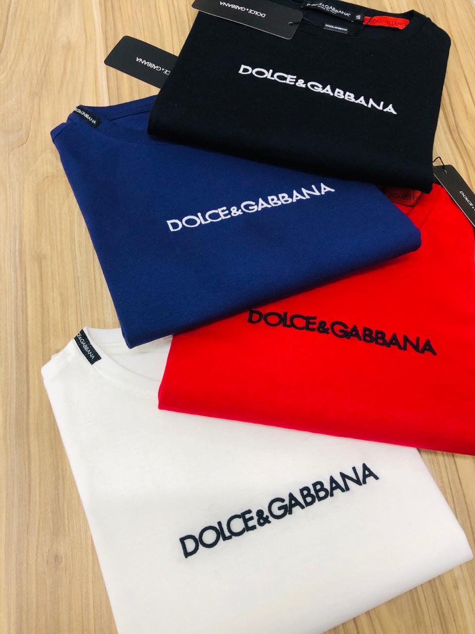 Camiseta Dolce & Gabbana Diferenciada (cada)