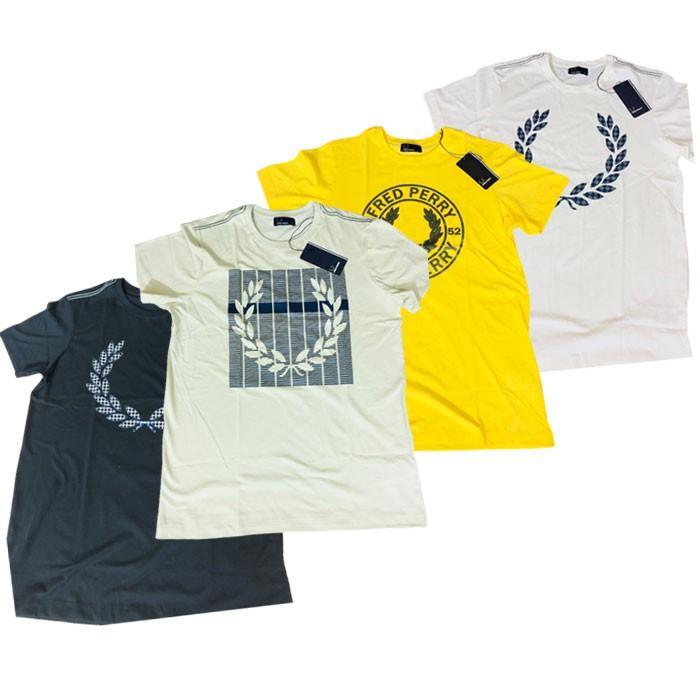 Camiseta Fred Perry Estampada (cada)