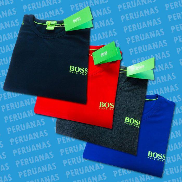 Camiseta Hugo Boss Clássica (cada)