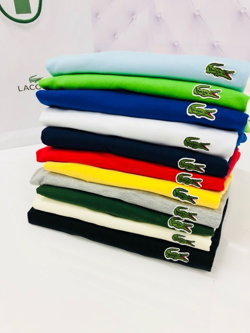 Camiseta Lac0ste Clássica