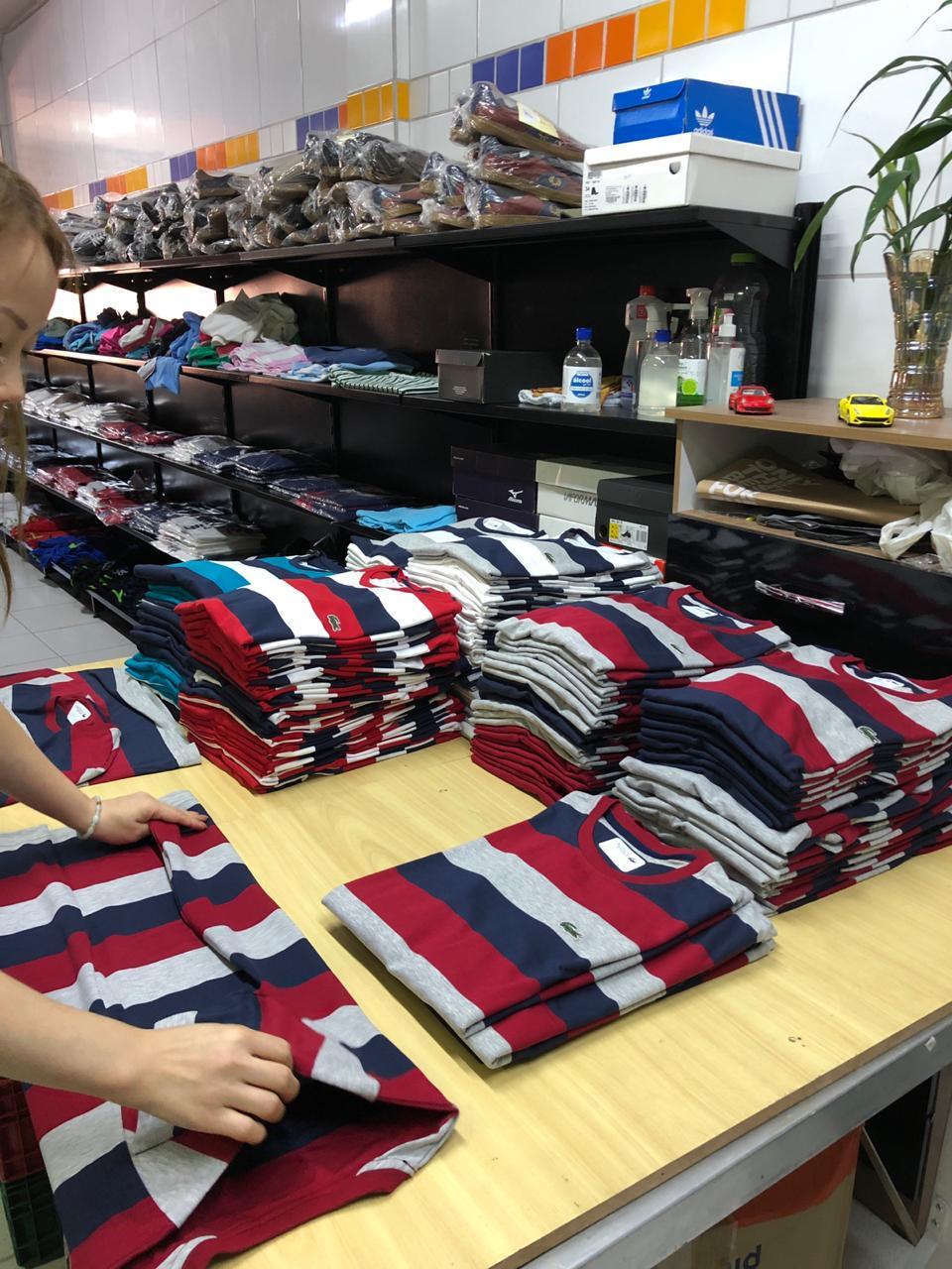 Camiseta Lac0st3 Listrada (cada)