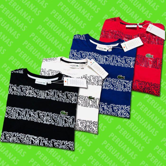Camiseta Lcte Peruanas X Keith Haring (cada)