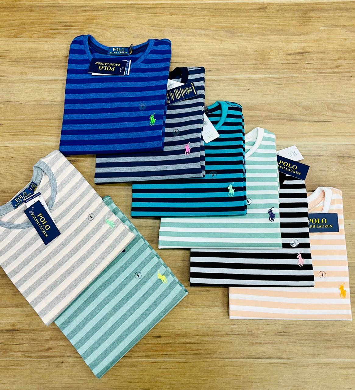 Camiseta Ralph Lauren Listrada (cada)