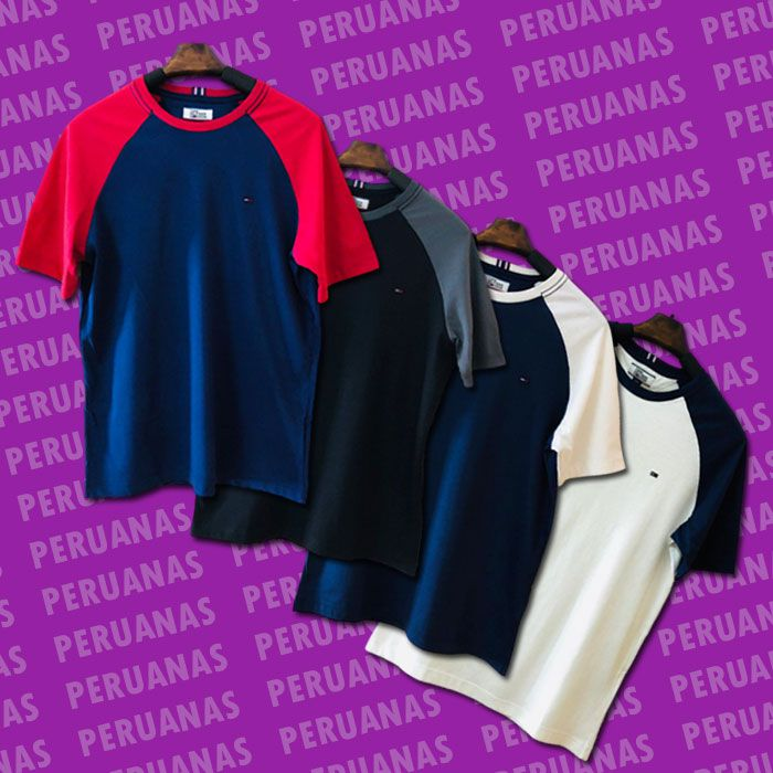 Camiseta Tommy Hilfiger Clássica Duas Cores (cada)
