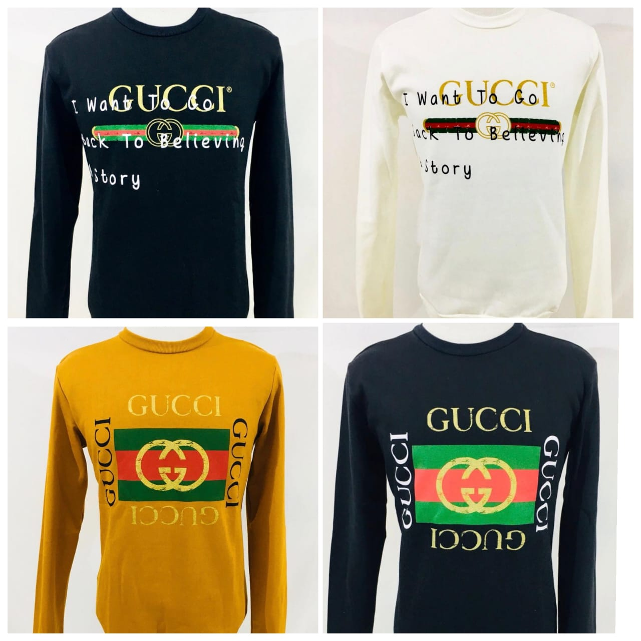 Moletom Gucci (cada)