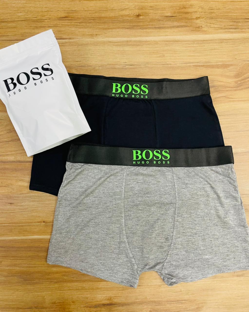 Pack 2 Cueca Box Hugo Boss