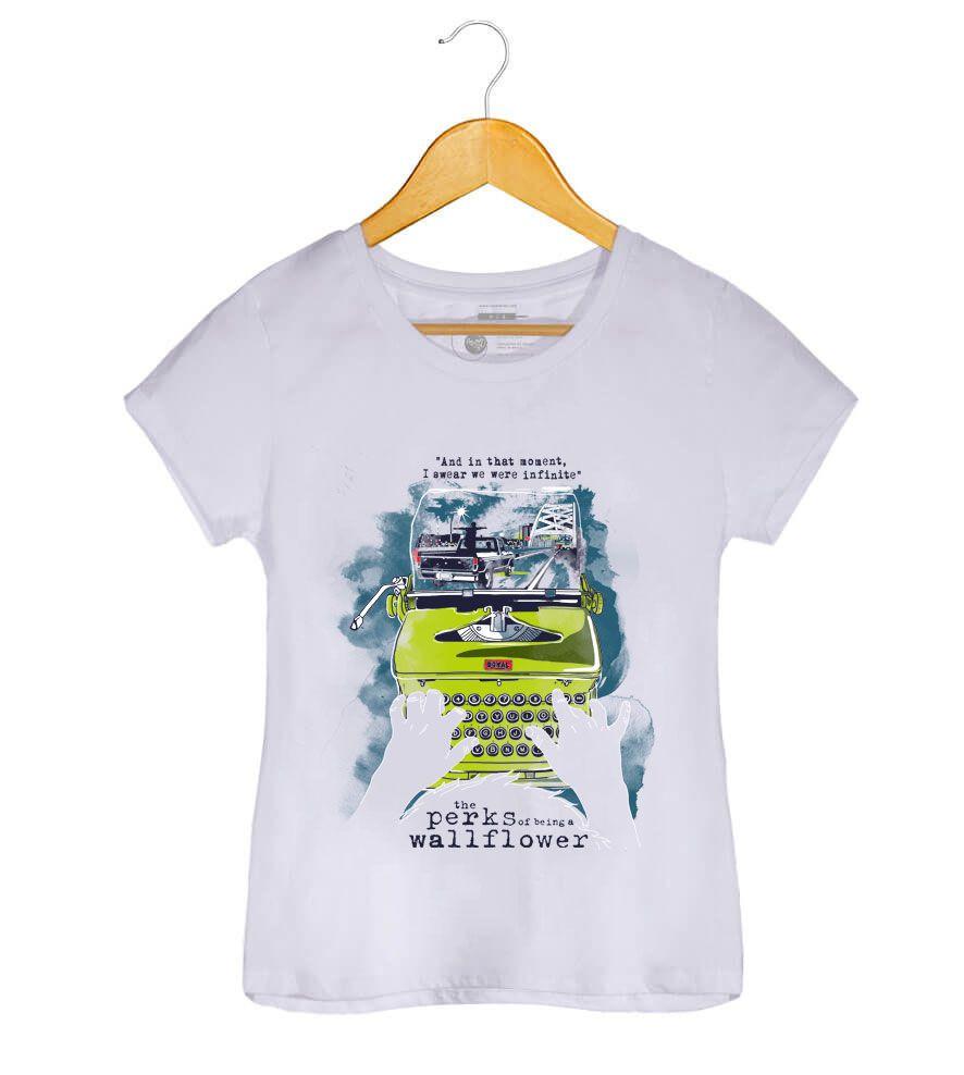 Camiseta As Vantagens de Ser Invisível -  Feminino