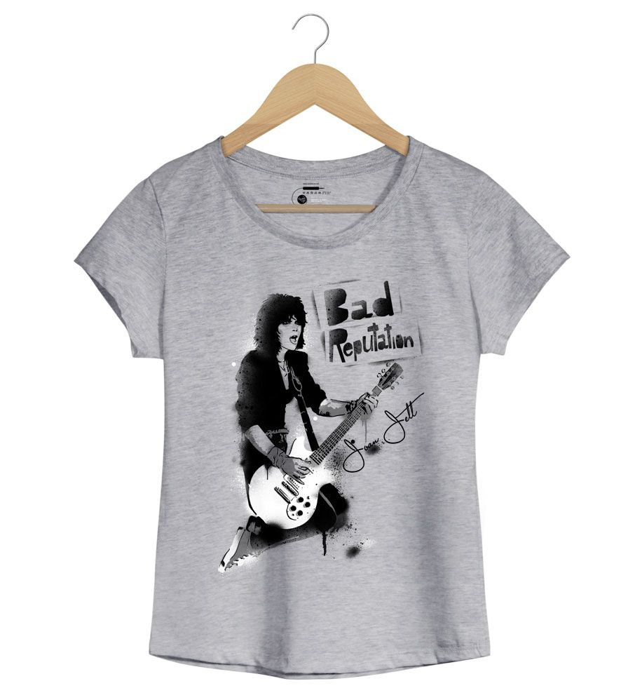 Camiseta Bad Reputation - Joan Jett - Feminino
