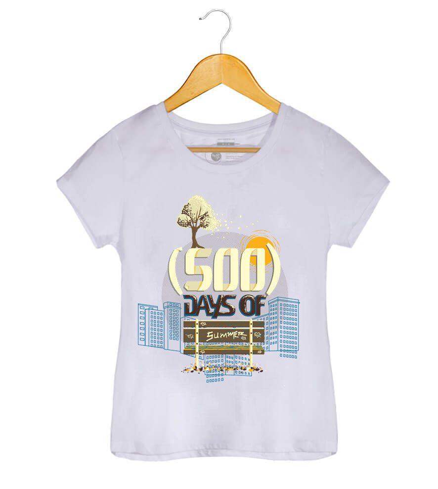 Camiseta - (500) Days Of Summer - Feminino (.)