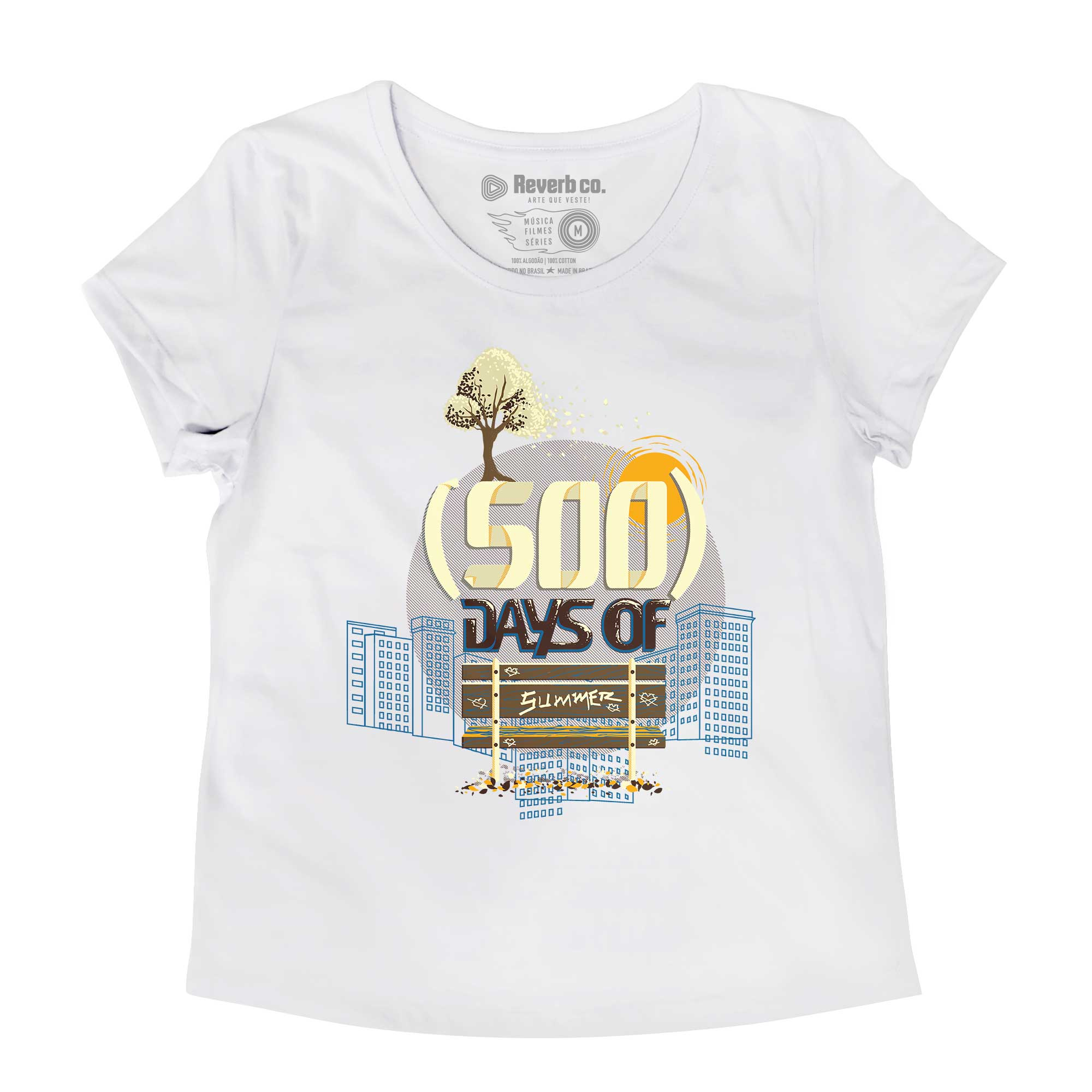 Camiseta (500) Days Of Summer - Feminino