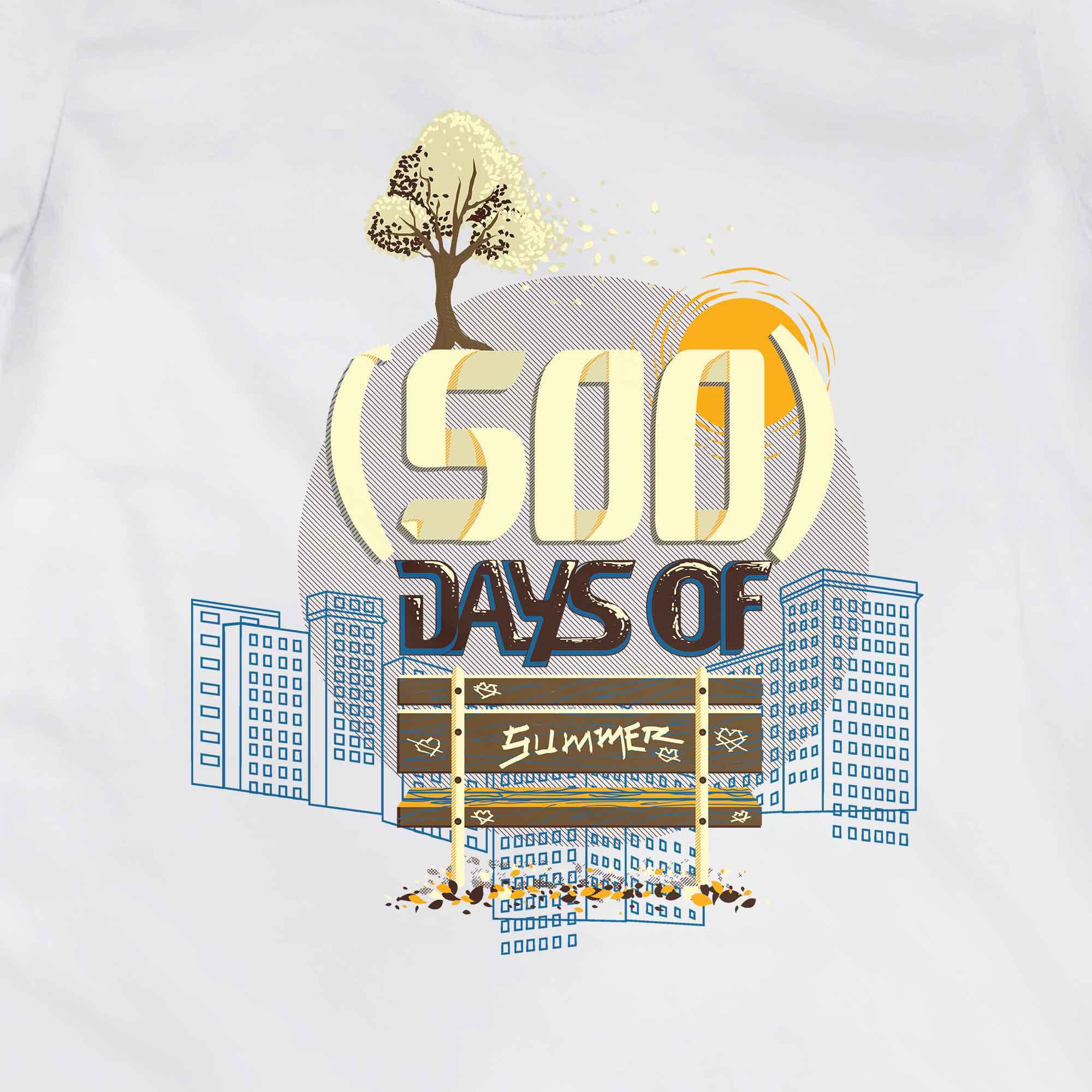 Camiseta (500) Days Of Summer - Feminino