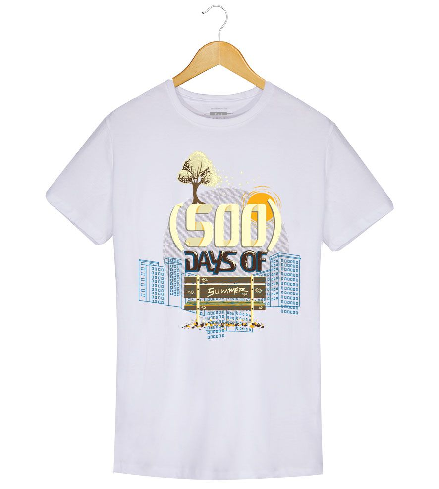 Camiseta - (500) Days Of Summer - Masculino  (.)