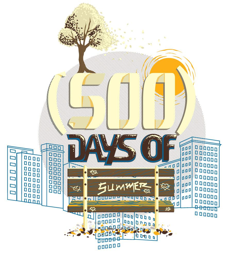 Camiseta - (500) Days Of Summer - Masculino