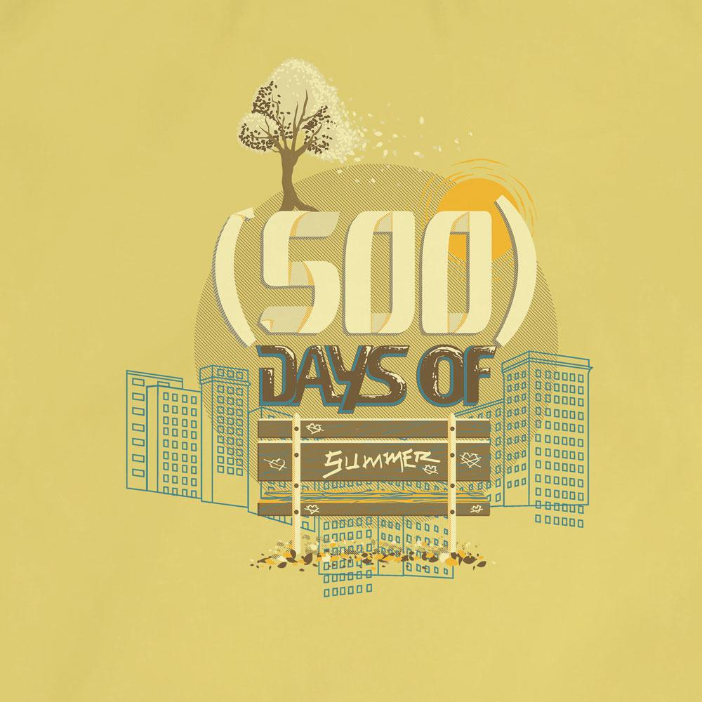 Camiseta (500) Days Of Summer - Masculino