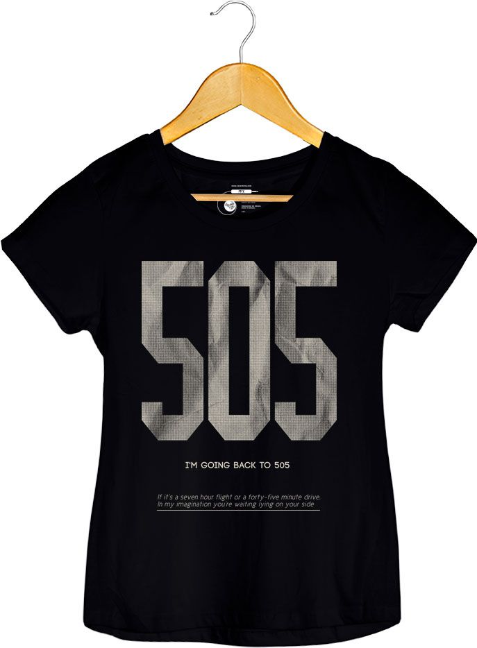 Camiseta - Arctic Monkeys - 505 - Feminino
