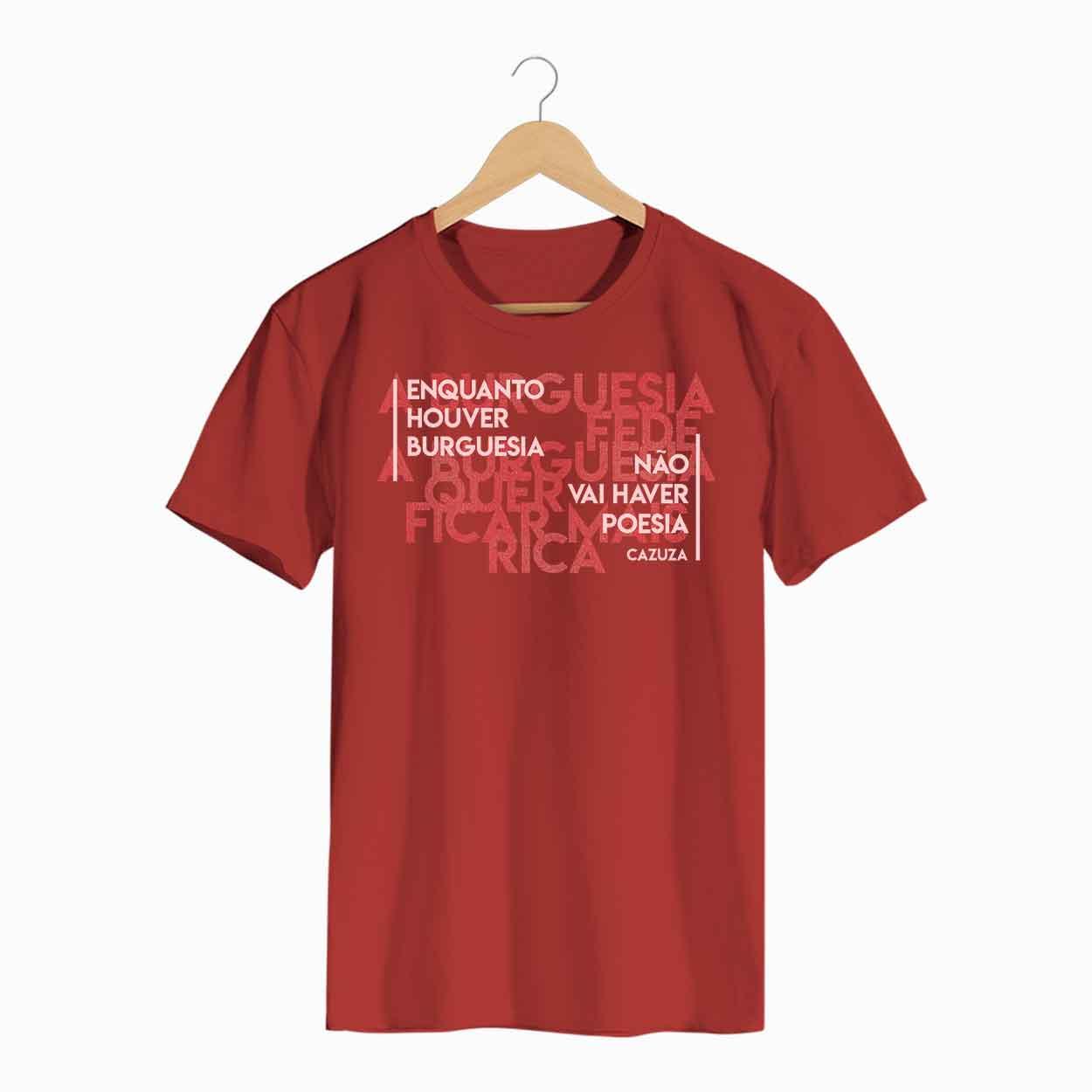 Camiseta A Burguesia Fede - Cazuza - Masculino