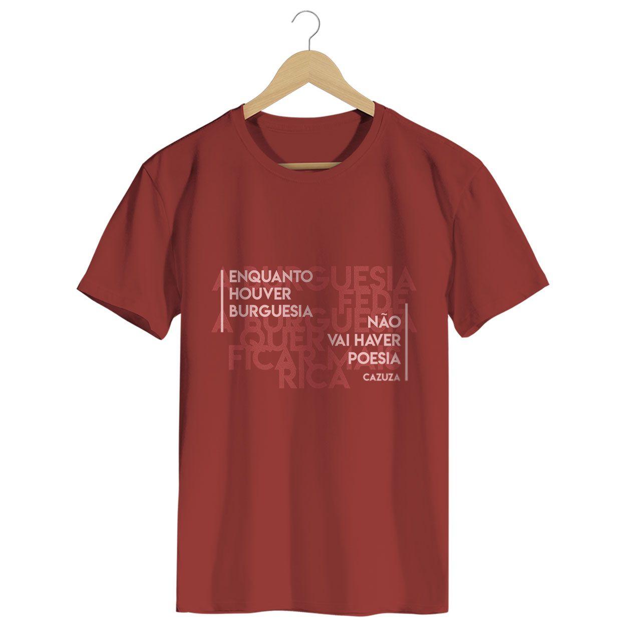 Camiseta - A Burguesia Fede - Cazuza - Masculino