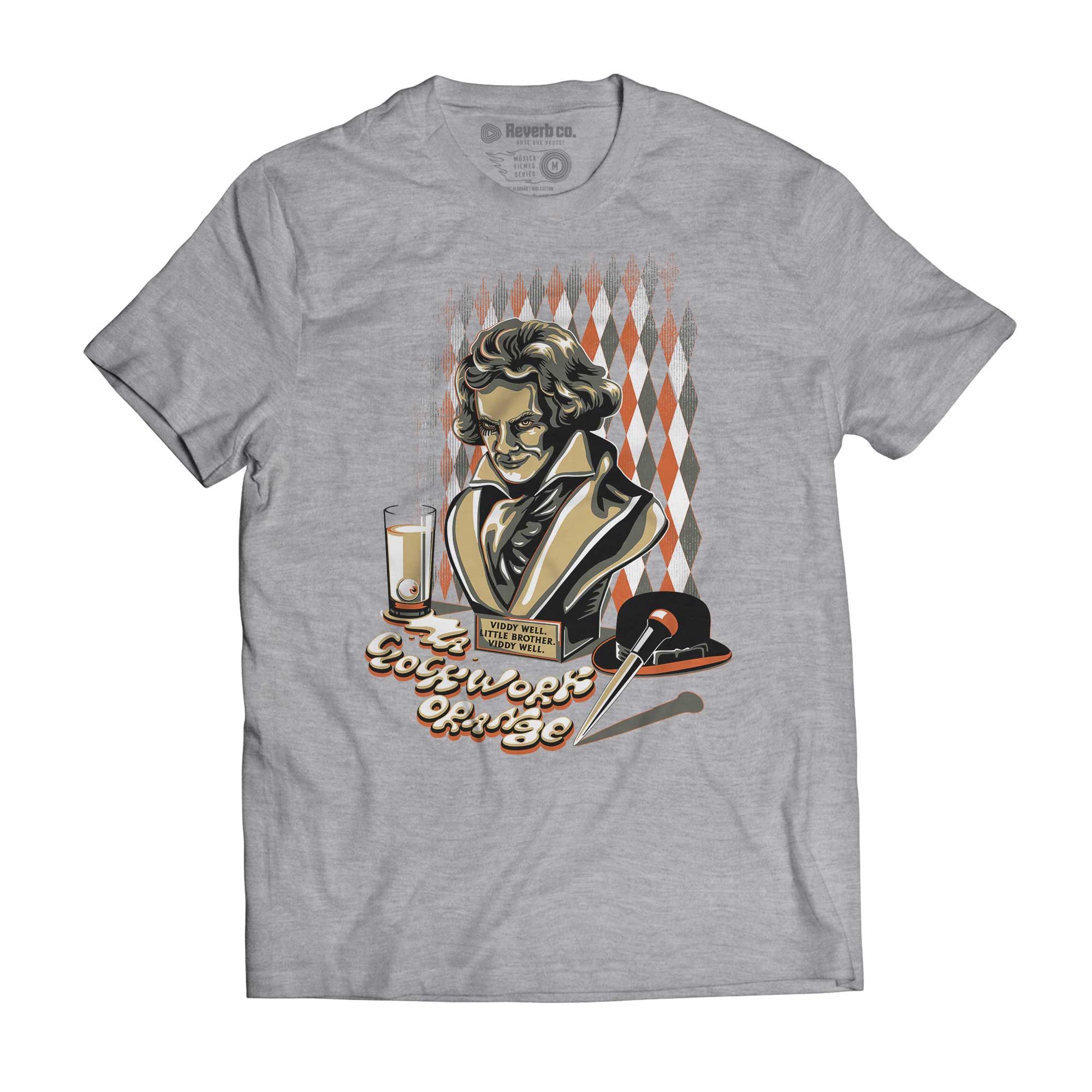Camiseta A ClockWork Orange - Masculino