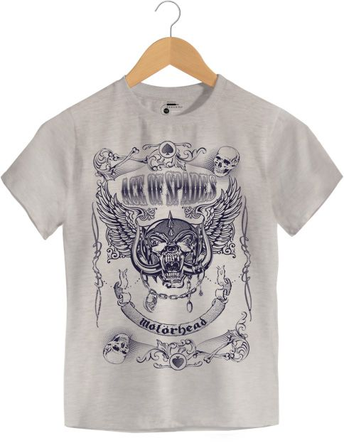 Camiseta - Ace of Space - Motorhead - Infantil