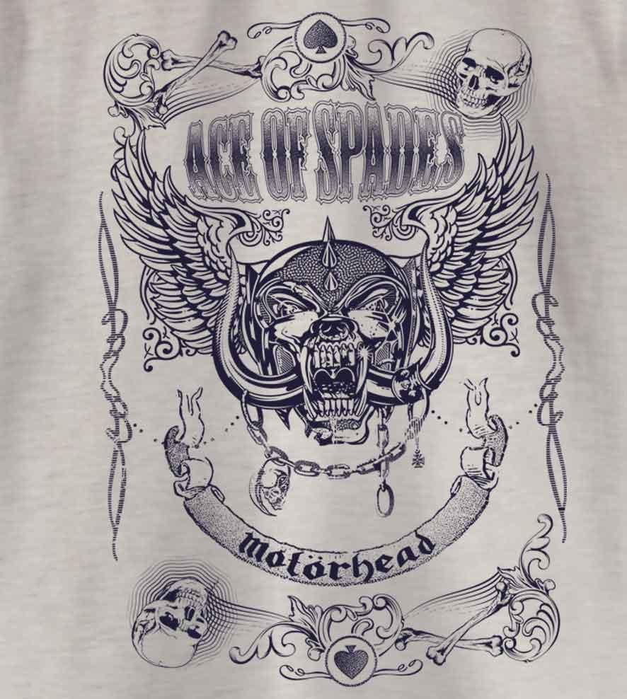Camiseta - Ace of Space - Motorhead - Infantil