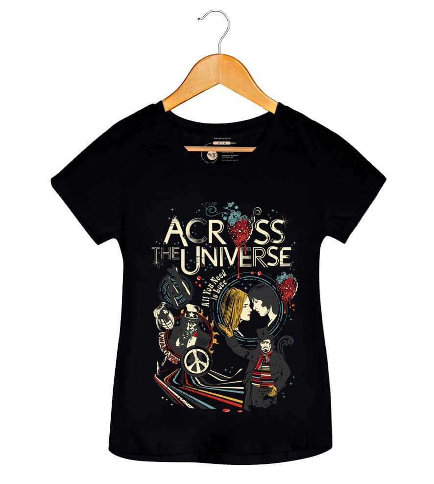 Camiseta Across The Universe - Feminino