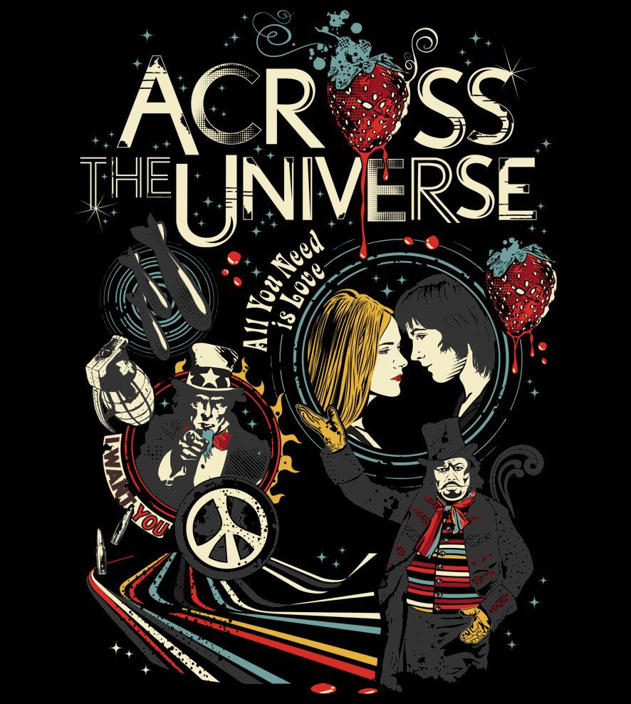 Camiseta - Across The Universe - Feminino