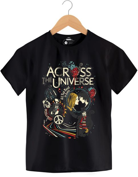 Camiseta - Across The Universe -  Infantil