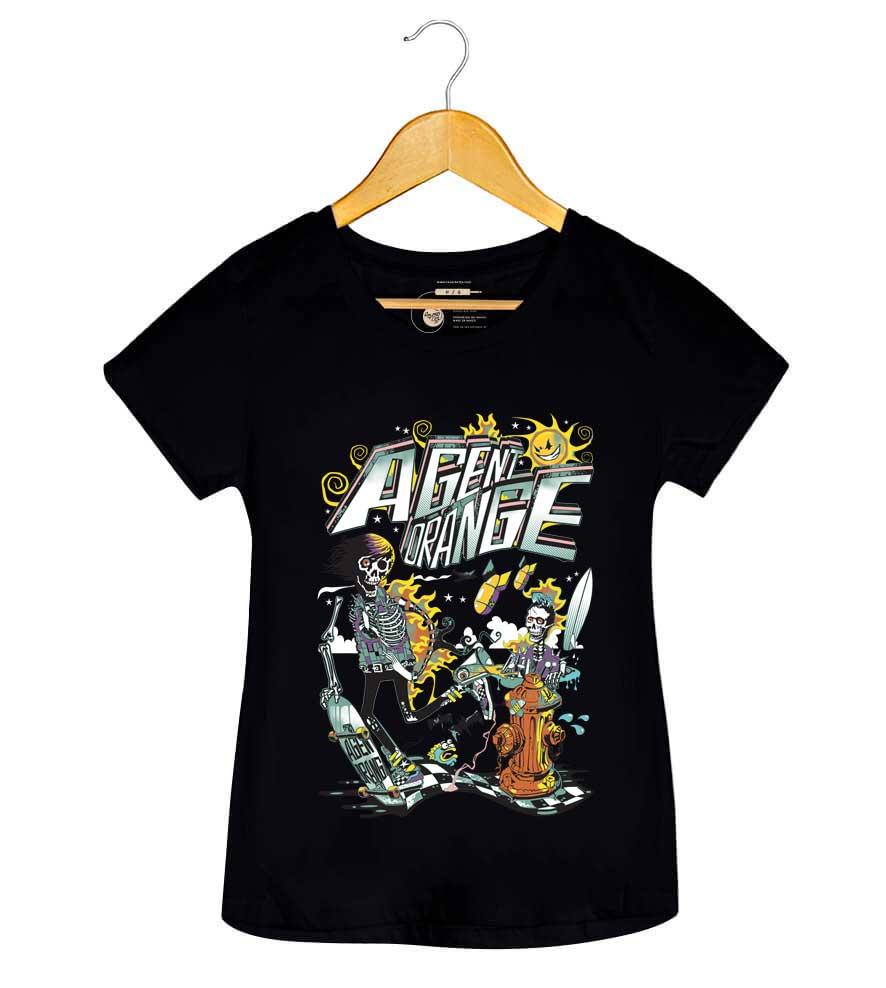 Camiseta - Agent Orange - Feminino