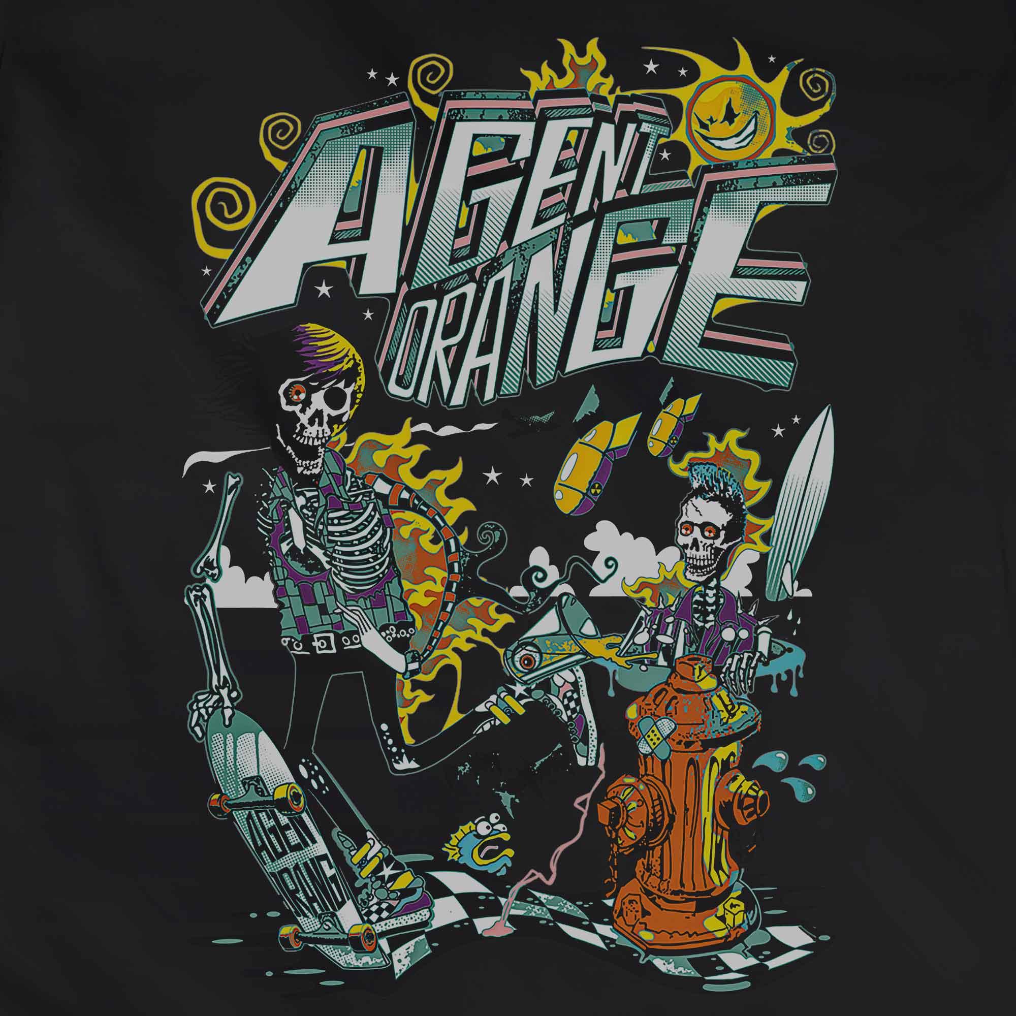 Camiseta Agent Orange - Feminino