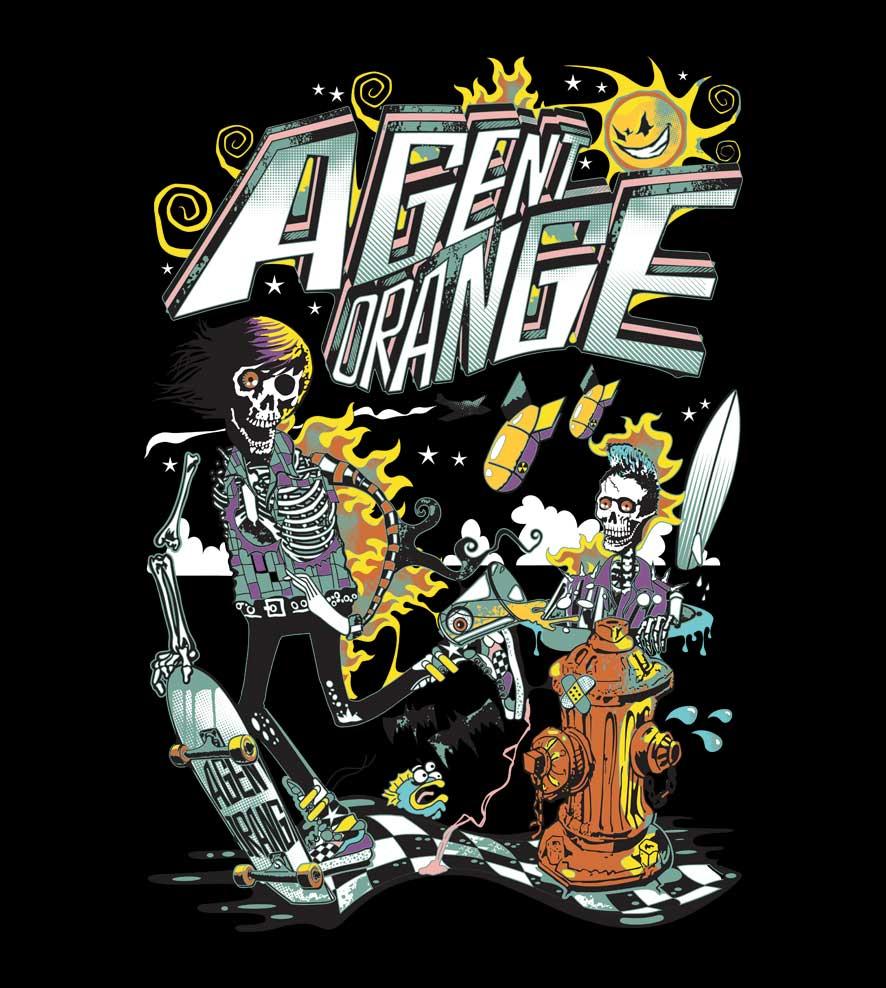 Camiseta - Agent Orange - Masculino