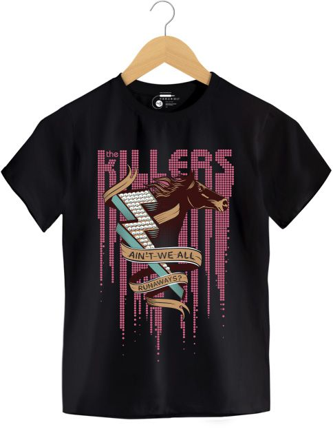 Camiseta - Ain't We All Just Runaway - The Killers- Infantil