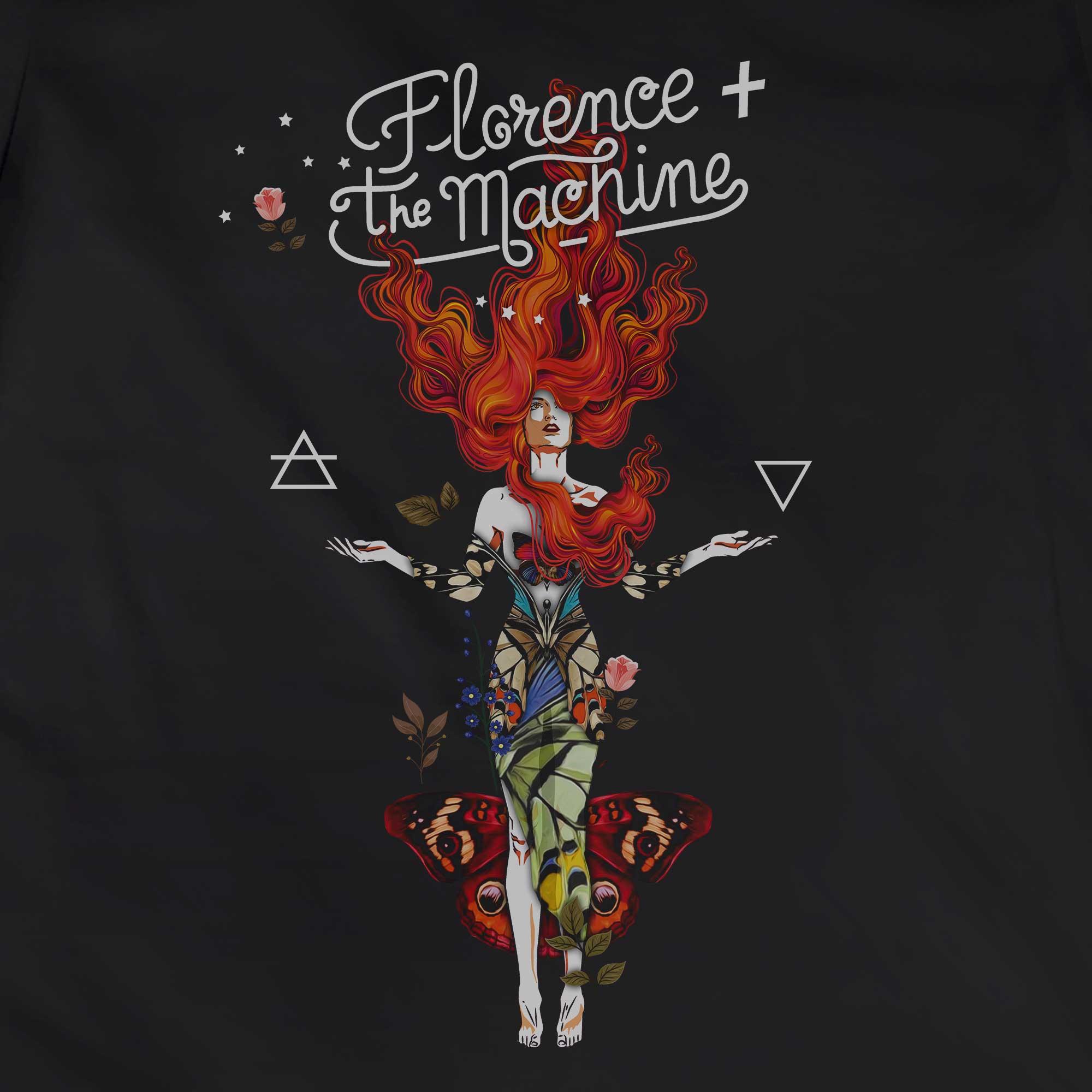 Camiseta Air and Water - Florence and The Machine - Feminino