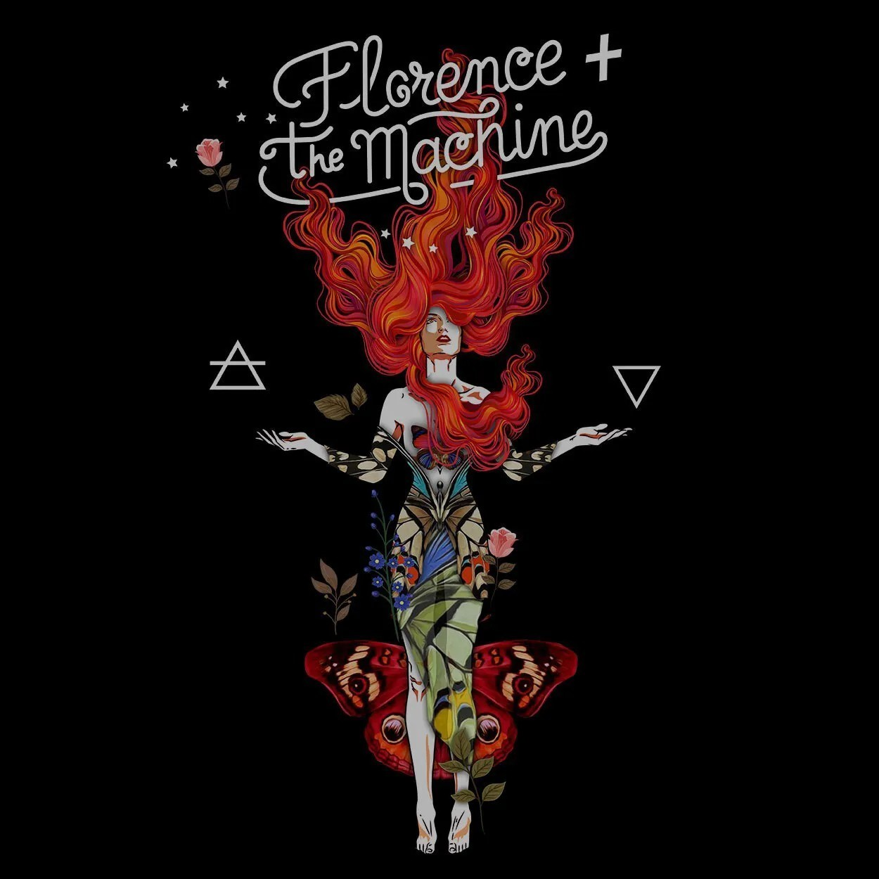 Camiseta Air and Water - Florence and The Machine - Masculino