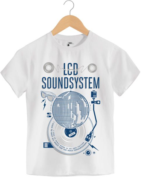 Camiseta - American Dream - LCD Soundsystem - Infantil