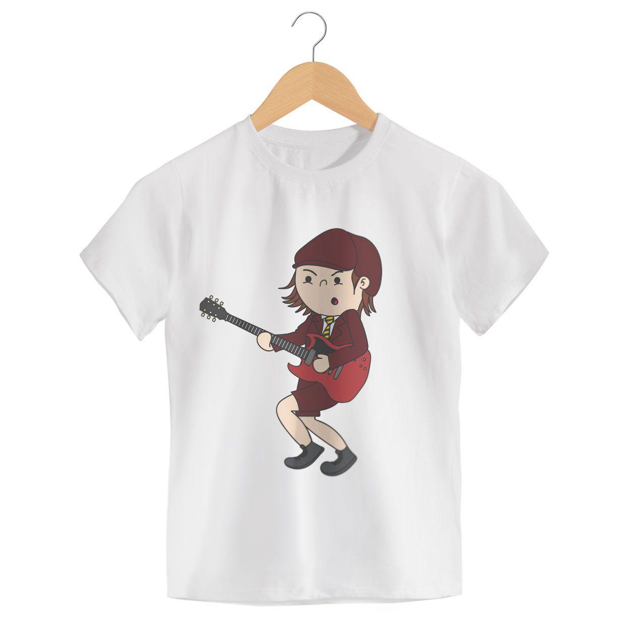 Camiseta - Angus McKinnon - ACDC - Infantil