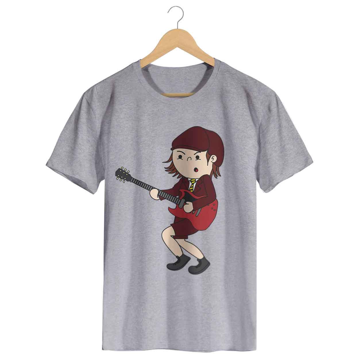 Camiseta - Angus McKinnon - ACDC - Masculino