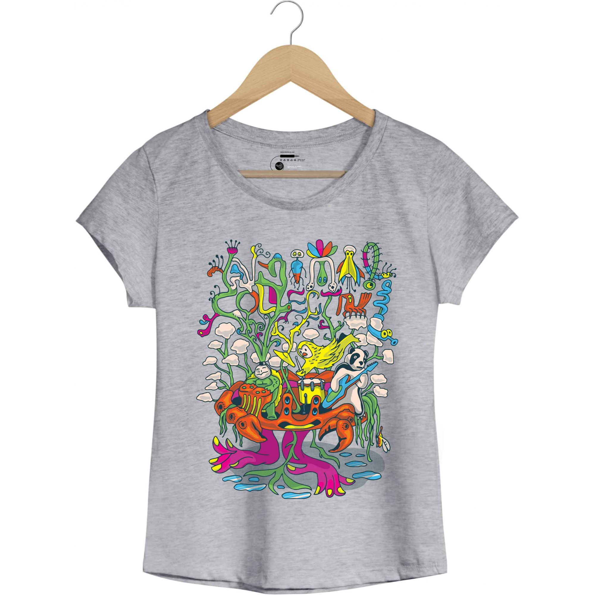 Camiseta - Animal Collective - Feminino