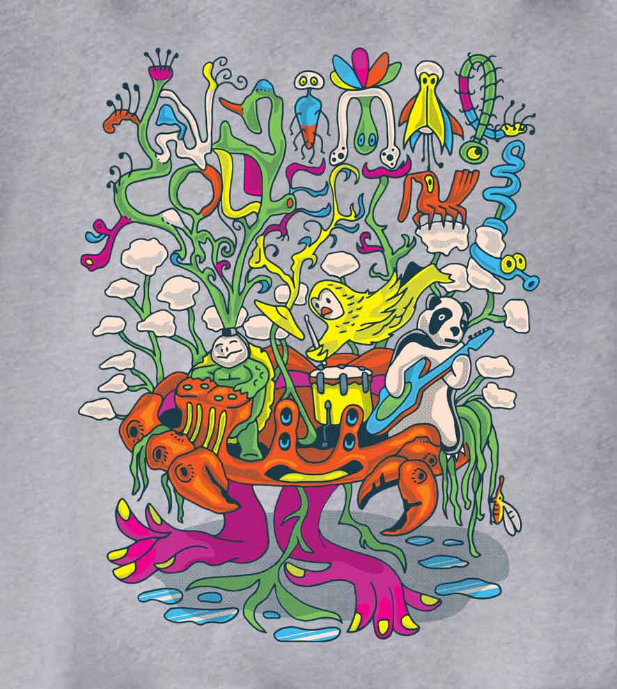 Camiseta Animal Collective - Feminino