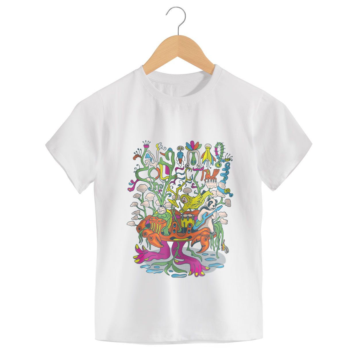 Camiseta - Animal Collective - Infantil