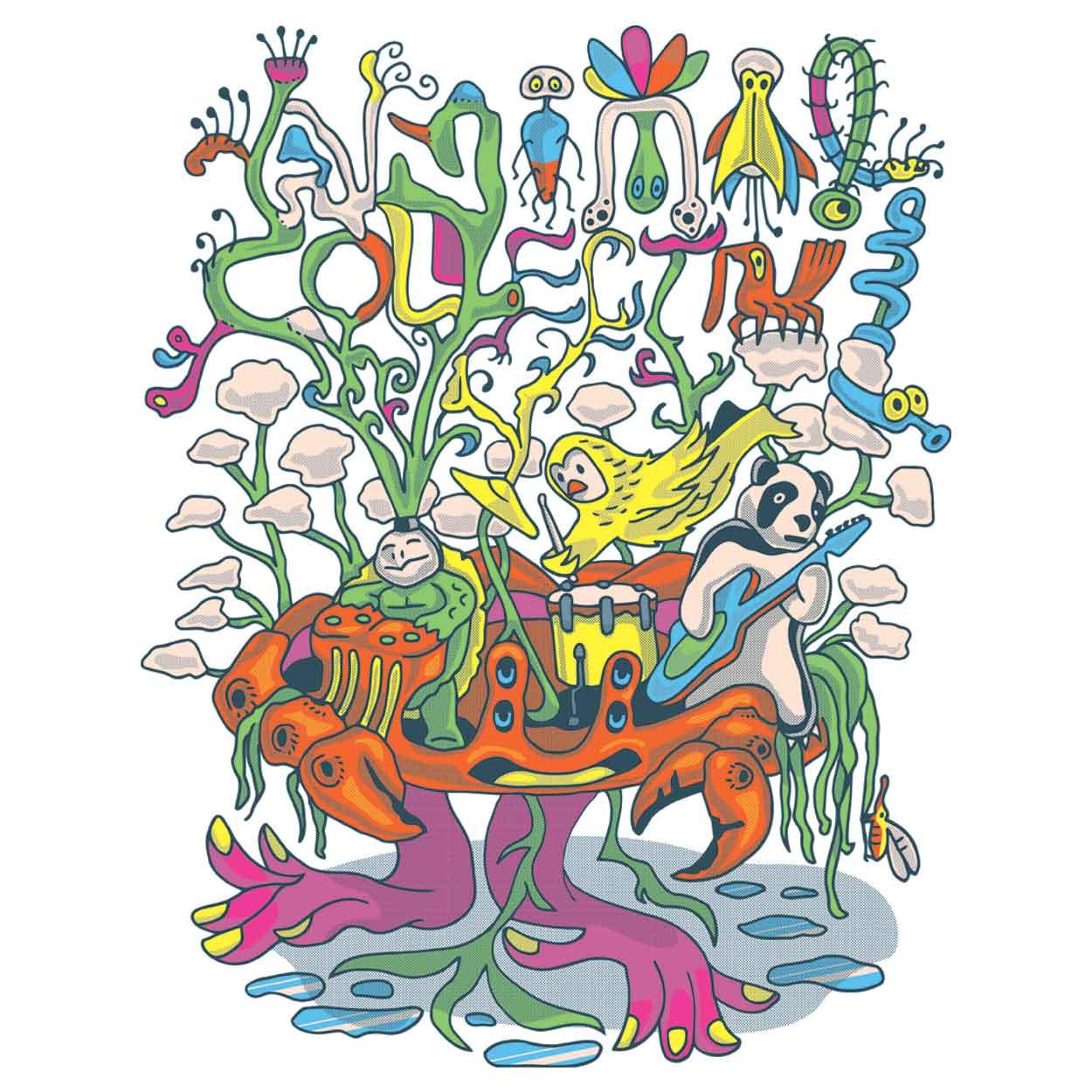 Camiseta - Animal Collective - Infantil