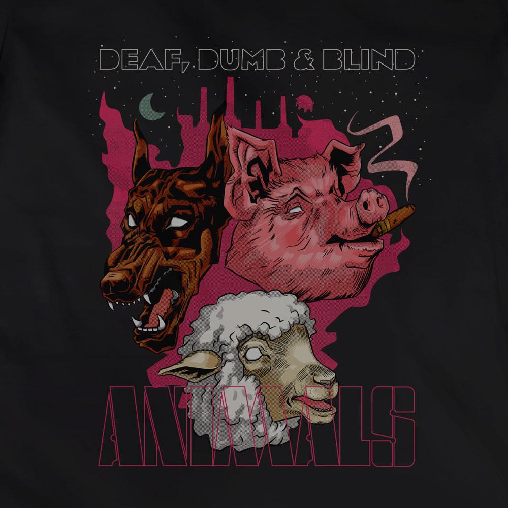 Camiseta Animals - Feminino