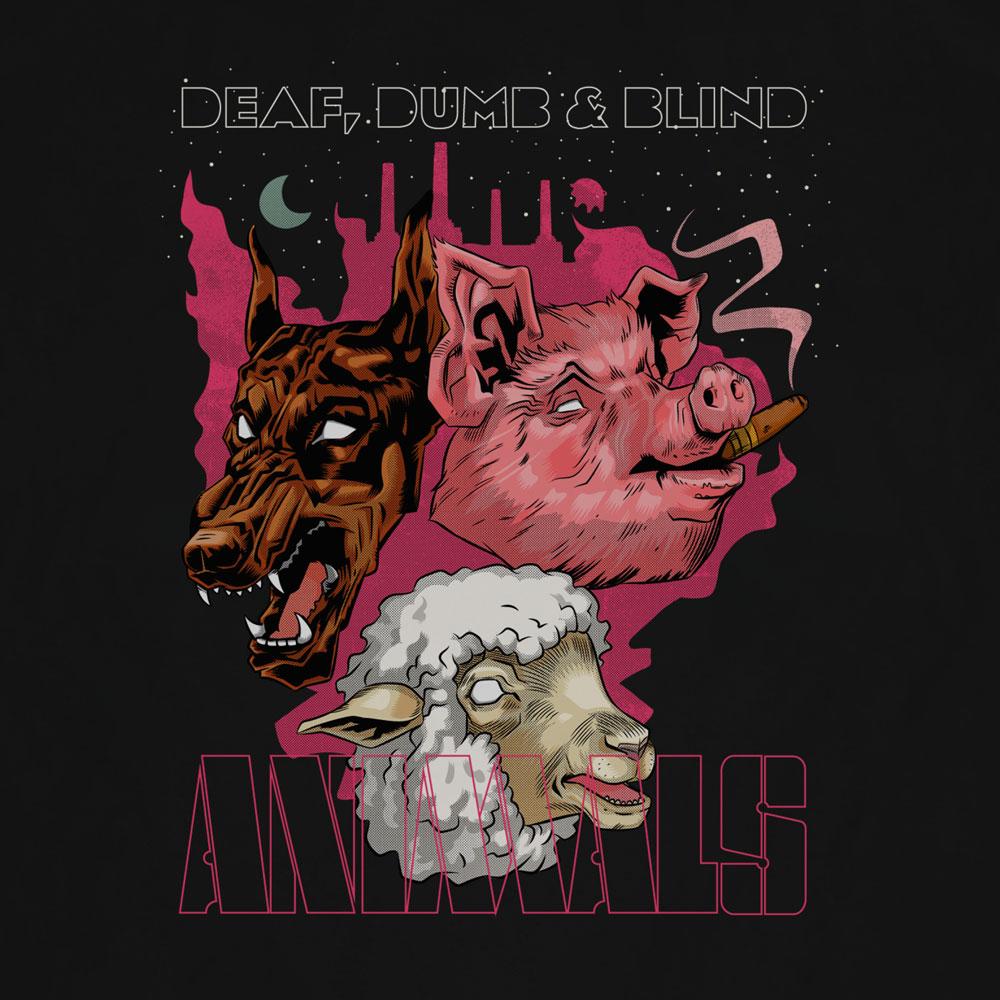 Camiseta Animals - Masculino