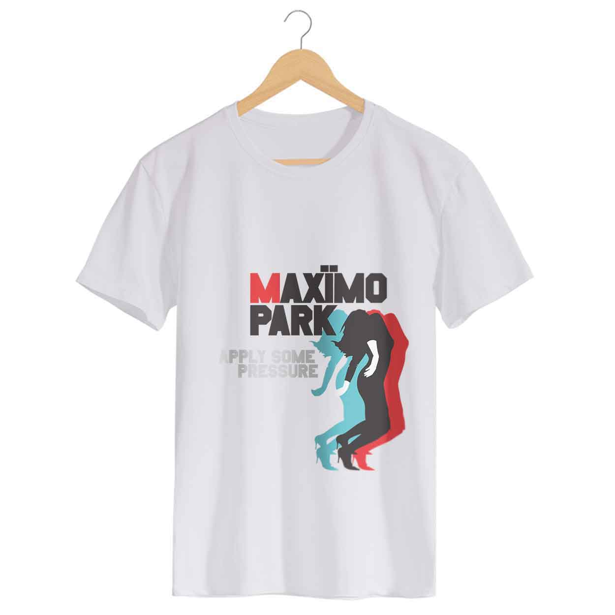 Camiseta Apply Some Pressure - Maximo Park - Masculino