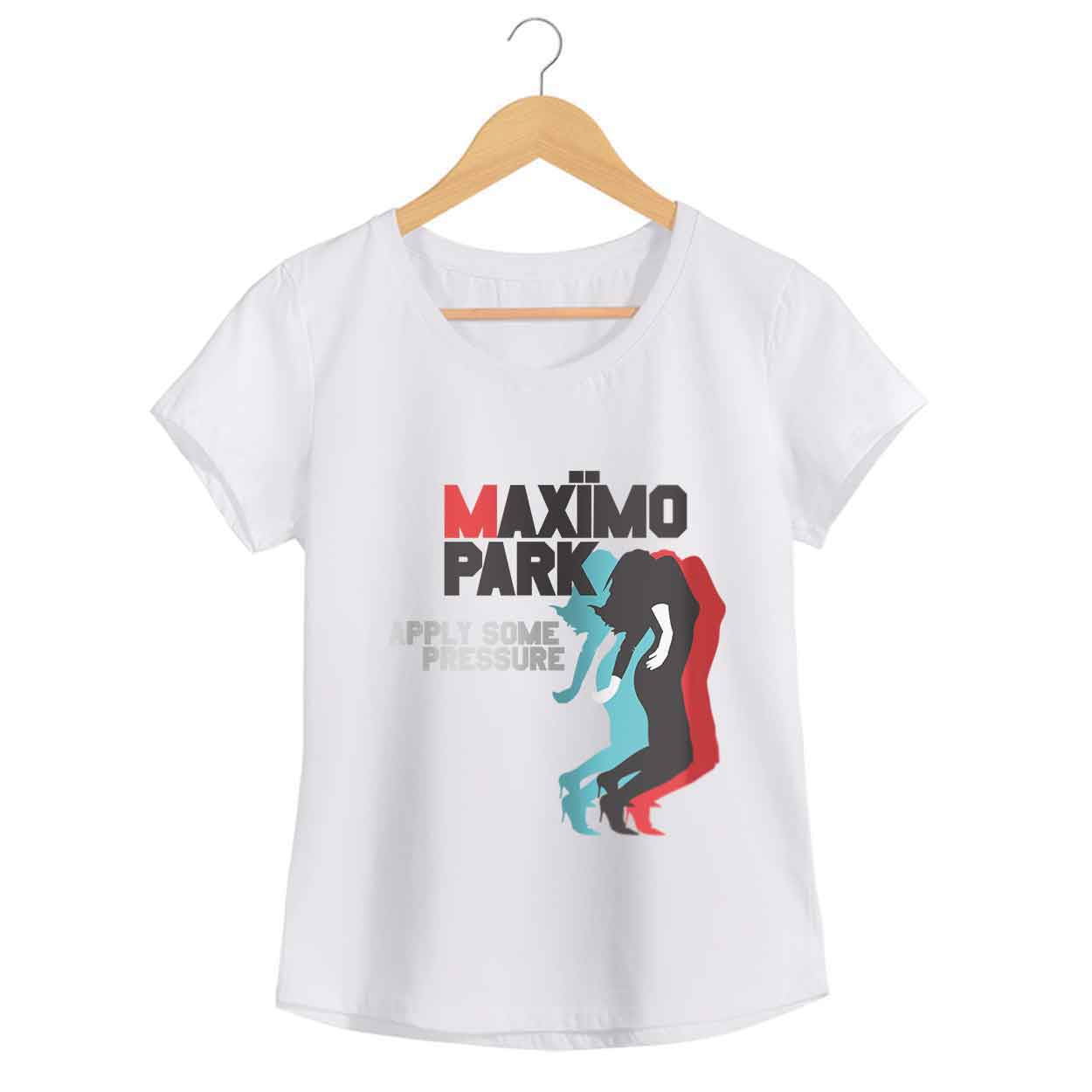 Camiseta - Apply Some Pressure - Maximo Park - Feminino