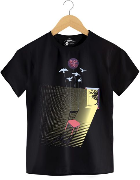 Camiseta Empty Room - Arcade Fire - Infantil