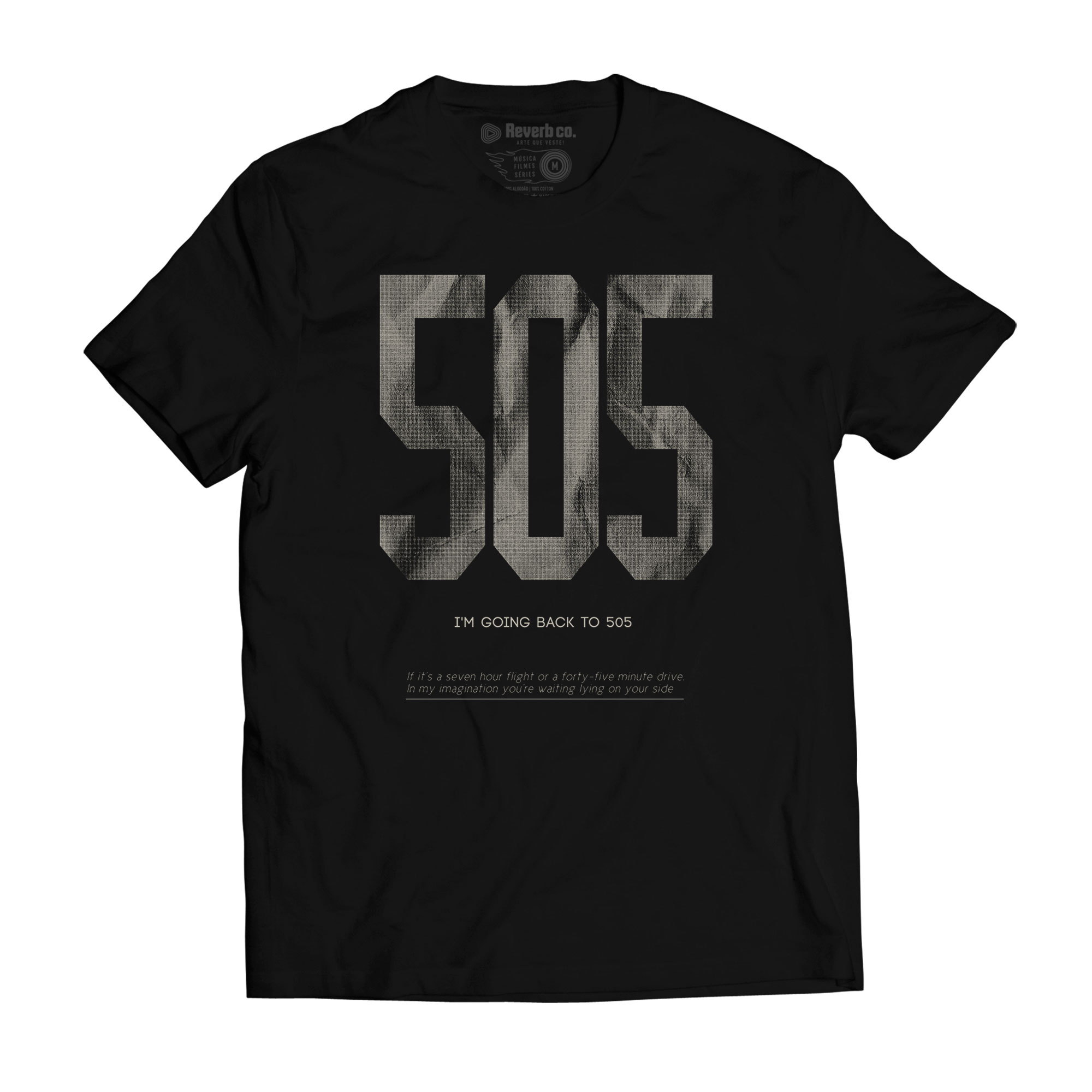 Camiseta Arctic Monkeys - 505 - Masculino